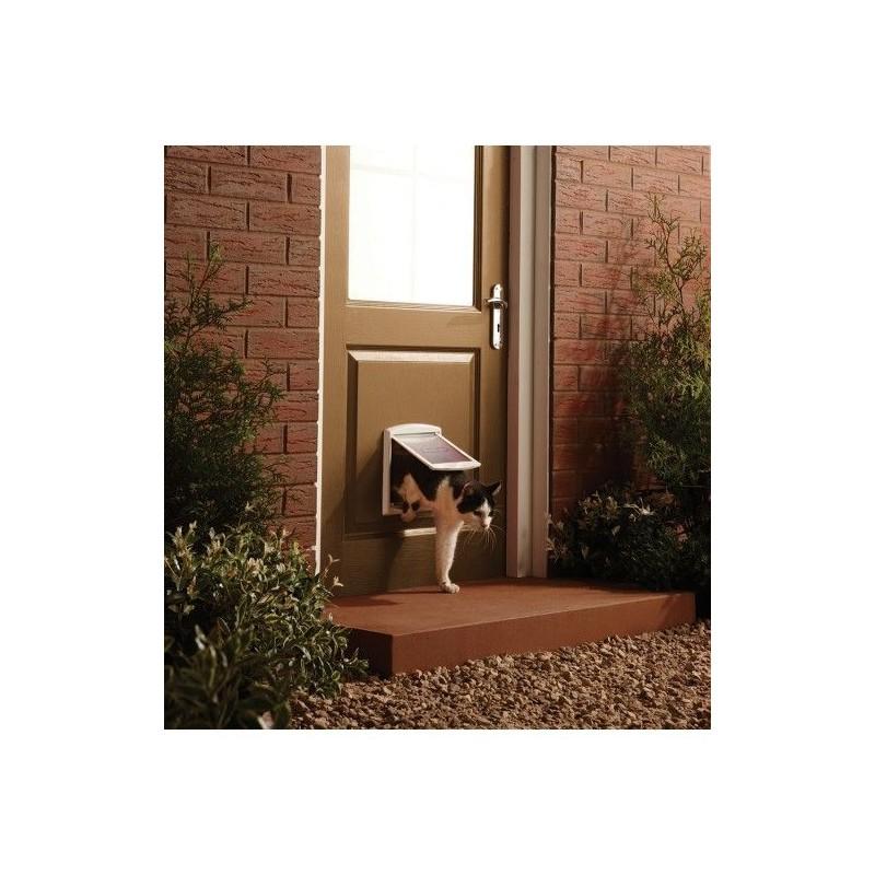 Tür für Hunde und Katzen Staywell 715, weiß S