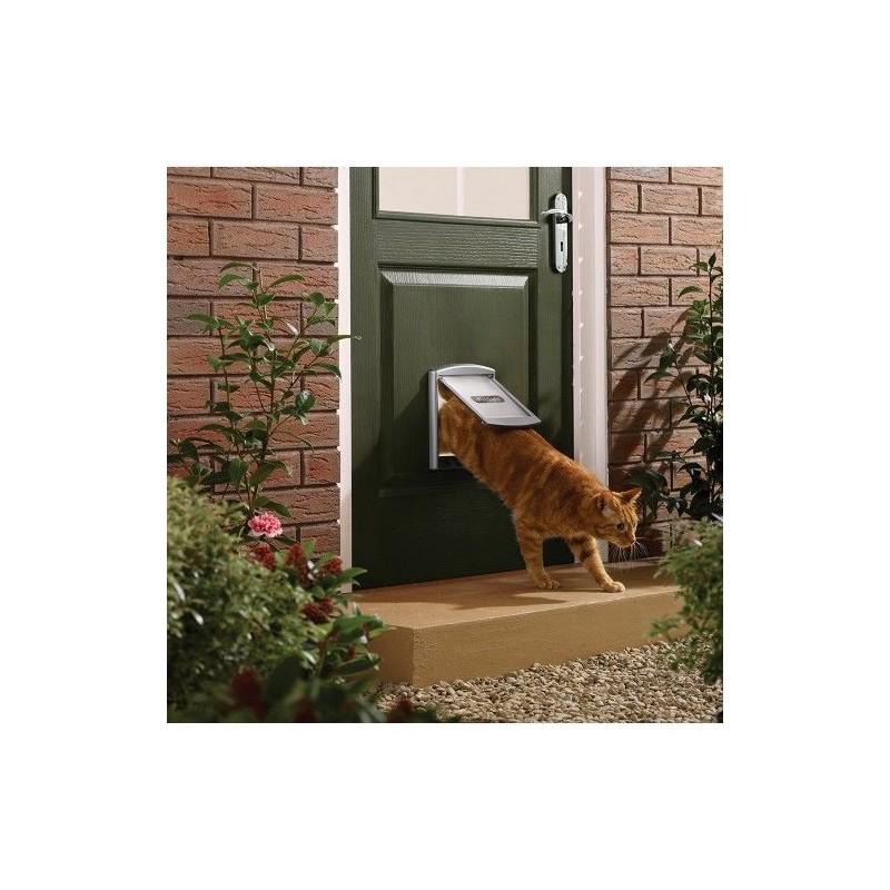 Tür für Hunde und Katzen Staywell 737, silber S