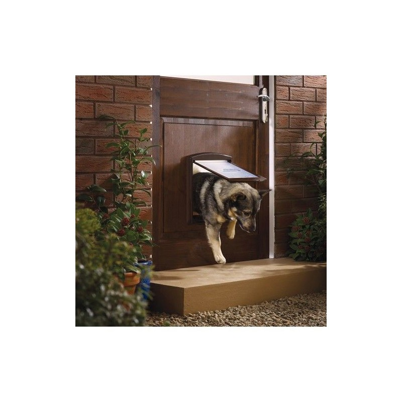 Hundetür Staywell 755, braun M