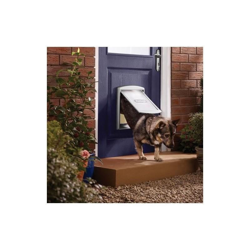 Hundetür Staywell 757, silber M