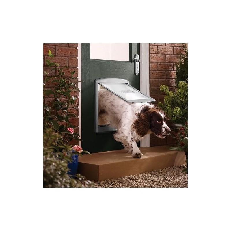 Hundetür Staywell 777, silber L