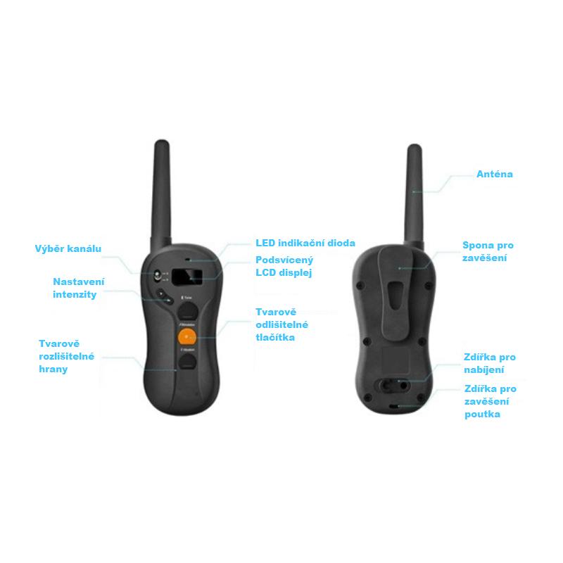 Elektronický obojek BENTECH P610